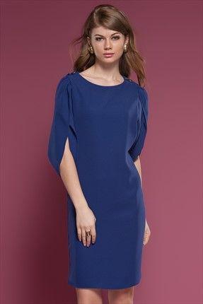 Ruj by Sln - Mor Elbise 34608 Trendyol da
