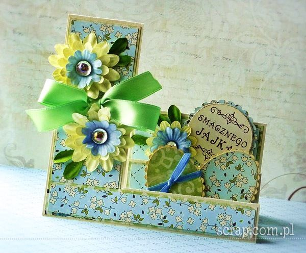 kartka wielkanocna: Tags, Kartka Wielkanocna, Wielkanocna Kartka, Wielkanoc Easter, Tutorials Scrap Cards Boxes, Kartkaschodkowa, Kartka Schodkowa, Cards