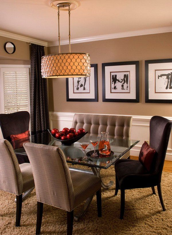 Best 10 contemporary dining rooms ideas on pinterest for Beautiful modern dining rooms