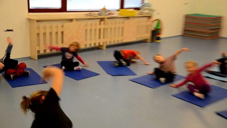 Cvičení dětské jógy - Yoga for Kids