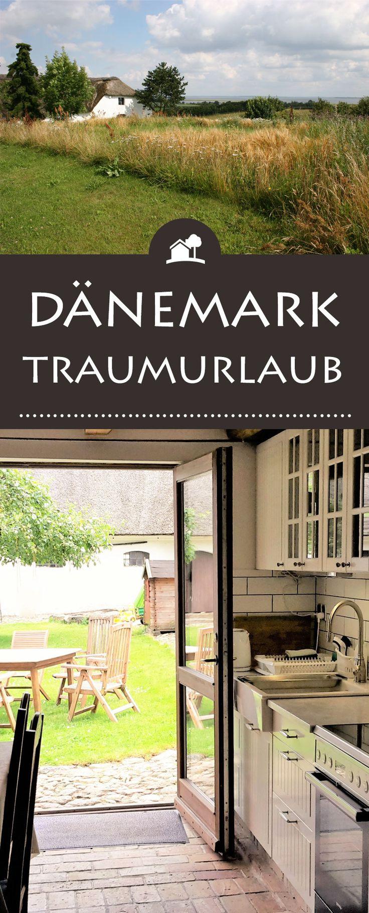 Von der Küche in den Garten - auf dem BiohofSpringbakgaard Organic Bed and Breakfast / Farm holiday appartmentsin#Dänemarkwohnt ihr unter Reet, erkundet die dänische#Nordsee& nascht vom leckeren Bio-Frühstückskorb