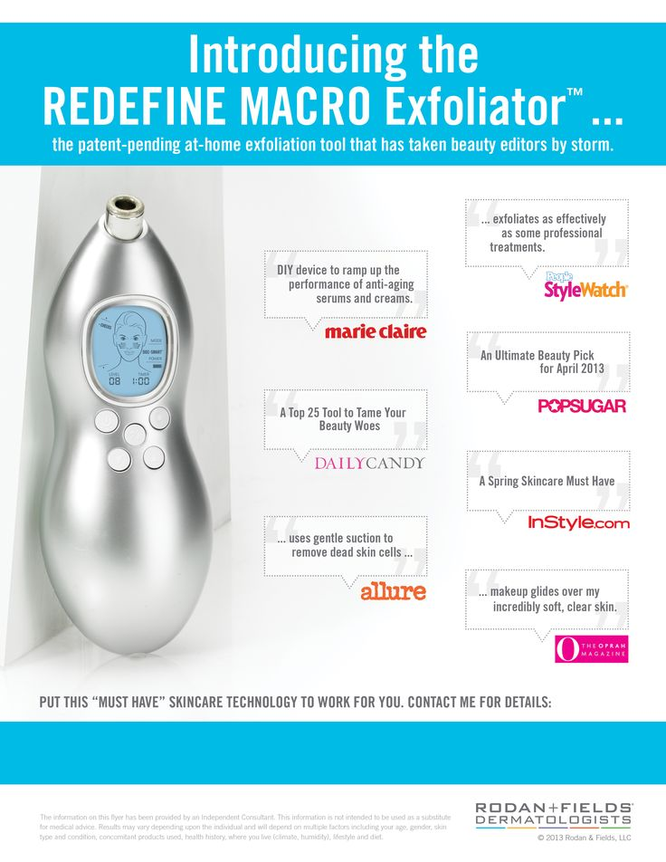 At home Macro Exfoliator from Rodan + Fields Dermatologists ~ the press loves it and so do I! morrismolly.myrandf.com