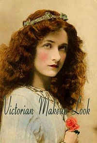In the late 1890s, the makeup style of Victorian women was that of paleness. Lemon juice and vinegar juice was either applied or consumed to maintain this fair complexion.The idea of a woman actively seeking a tan was unheard of and only expected in the farming class. Society women kept indoors much of the time. Women's facial looks was much more about skincare and the careful application of creams.