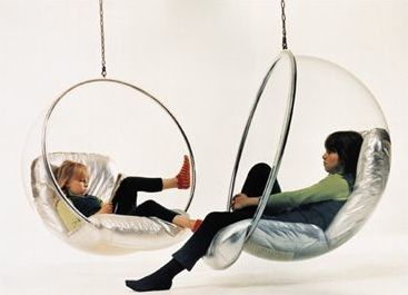 Bubble Chair by Eero Aarnio some day it will be mine! <3