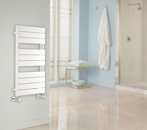 Elegance combined with design simplicity, the Myson Interlude heated towel rail will bring style to your bathroom. Available in three heights (530mm, 905mm & 1655mm) and one width (500mm). 10 year warranty. Prices from £234.94!