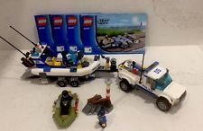 LEGO CITY # 60045 Police Patrol- Complete with instructions- EUC