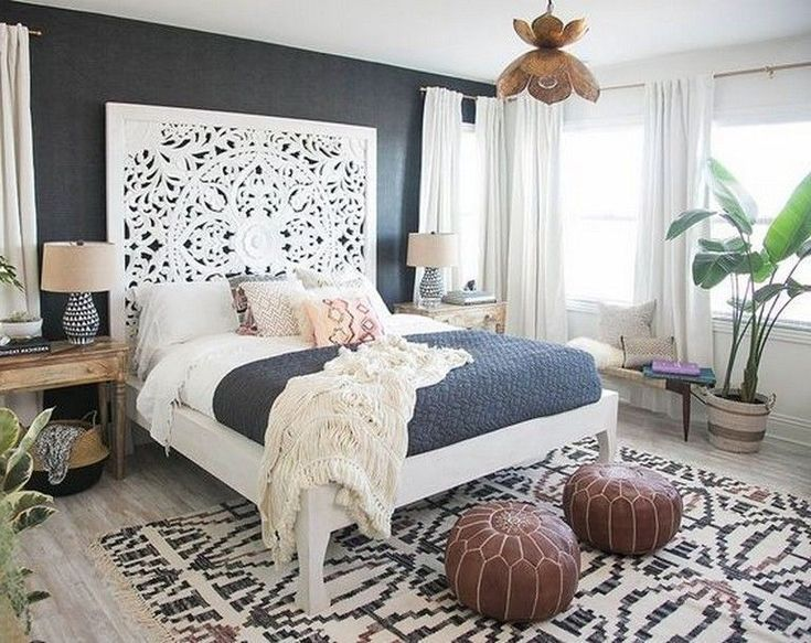 10 Admirable Boho Bedroom Decorating On A Budget For Unique Look Bedroomdecor Master Bedrooms Decor Apartment Decor Bedroom Trends