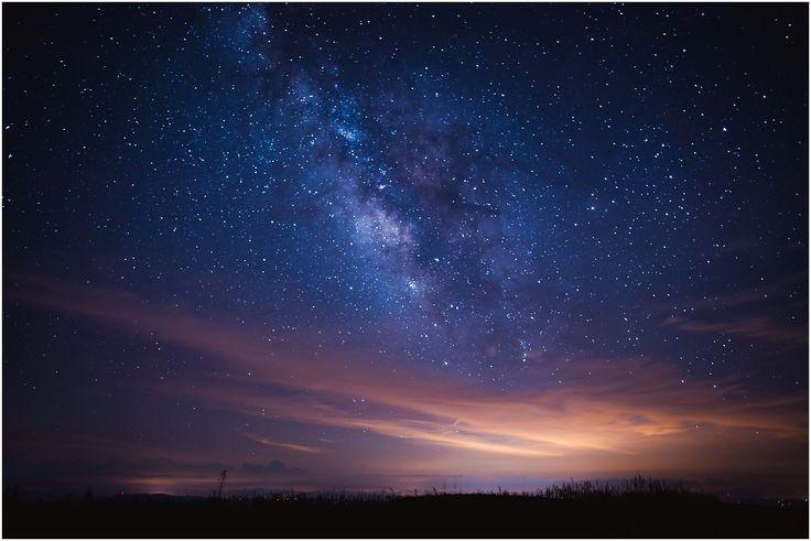 Milky way and metior showers Cherohala skyway