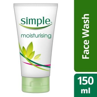 Simple Moisturizing Face Wash 150ml | Lazada Philippines  Simple Kind to Skin Moisturizing Facial Wash cleverly moisturizes while cleansing, washing away impurities without leaving your skin feeling tight or dry. It helps maintain the skin's natural barrier, leaving skin soft, moisturized and replenished. This gentle face wash is 100% soap-free and contains no artificial perfumes, colour or harsh chemicals that can upset skin making it perfect for sensitive skin.  This Facial Wash is…