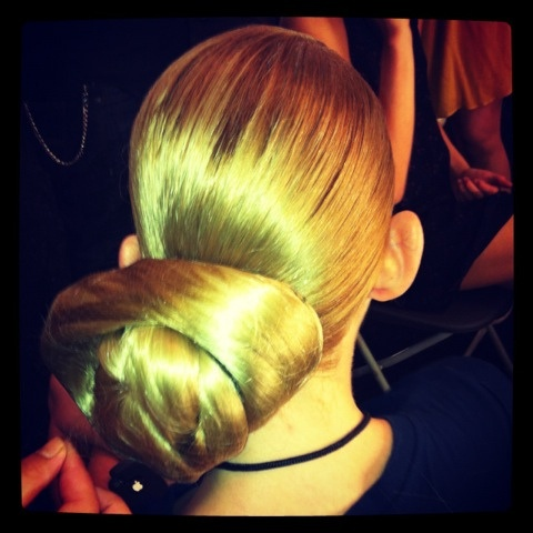 New York Fashion Week 2012 - Here's an inside look at some Spring/Summer 2013 looks from Aveda Institute Calgary Educator Tim Kenny.