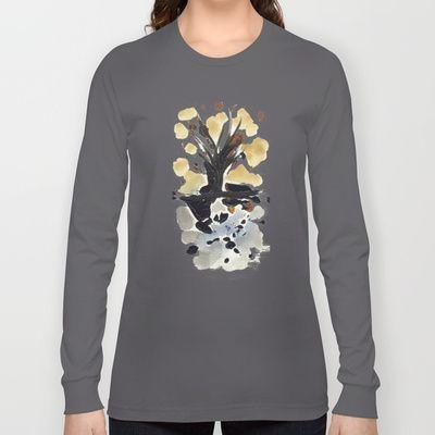 In Limbo - Sepia II Long Sleeve T-shirts