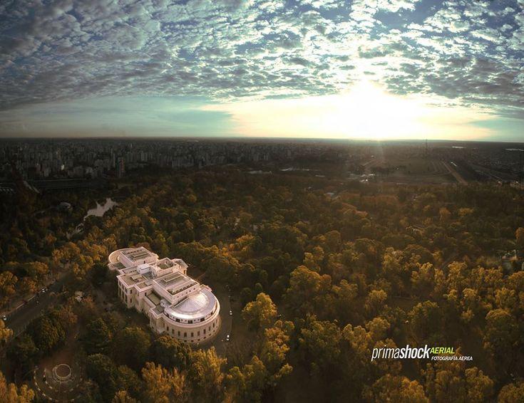 La Plata paseo del bosque, museo de ciencias naturales p rimashock Aerial