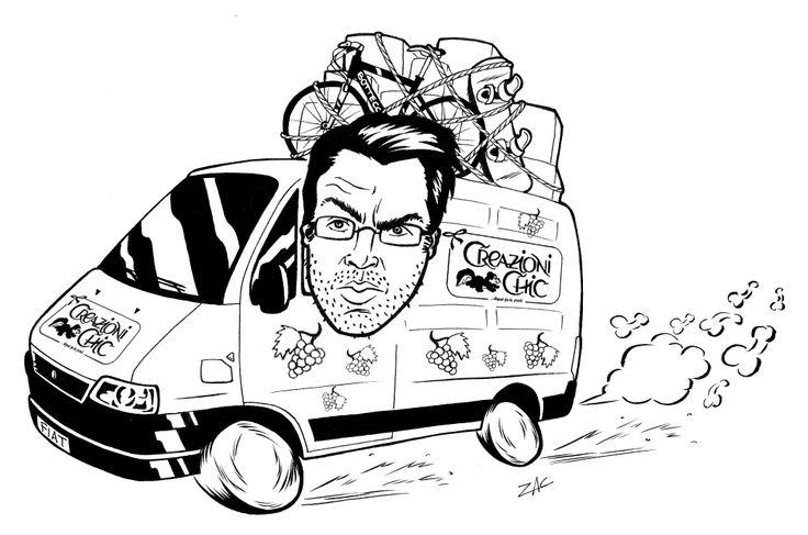 caricature of university degree