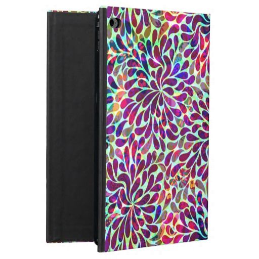 Colorful Abstract Floral Design Powis iPad Air 2 Case