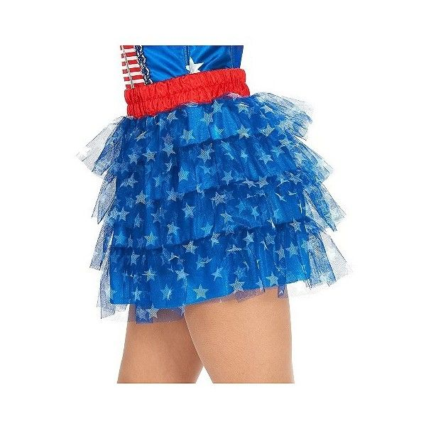 Stars Women's Plus-Size Tutu Costume, Multicolored ($15) ❤ liked on Polyvore featuring costumes, multicolored, plus size, adult star costume, plus size superhero costumes, superhero halloween costumes, star costume and womens plus costumes