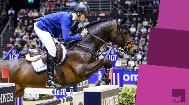 Christian Ahlmann po zwycięstwach w Stuttgarcie, Madrycie i Mechelen kolejny raz wygrywa konkurs zaliczany do Pucharu Świata w Bazylei