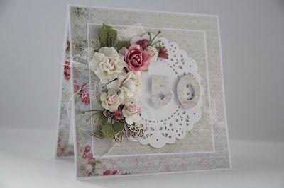 urodziny, imieniny , kartka scrapbooking, kwiaty