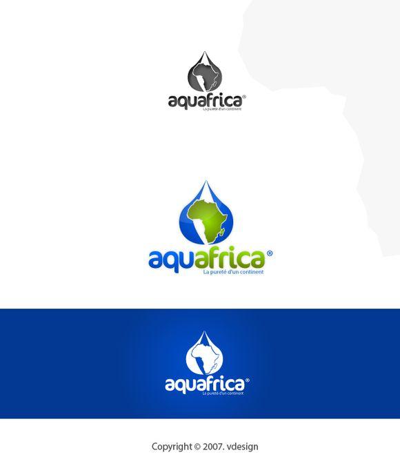 Logo Needed for Bottled Water Company : Aquafrica by vjeko