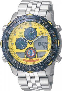 Relógio Citizen Promaster Navyhawk Esquadrilha da Fumaça
