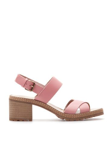 Bershka Slovakia - BSK LEATHER sandals