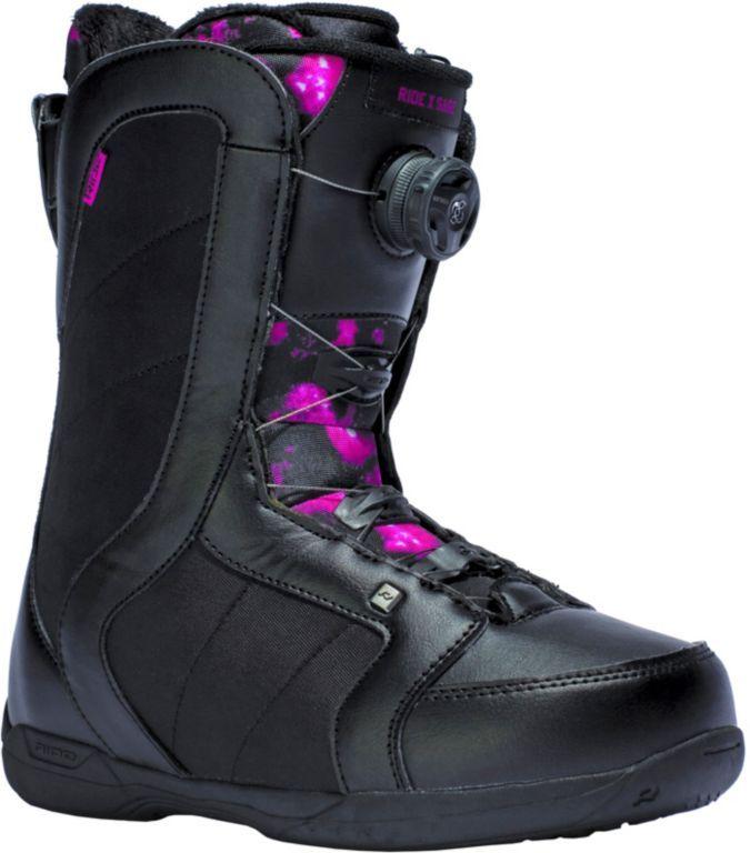 #Ride #Snowboards #Sage #Snowboard #Boots #Damen #schwarz/lila