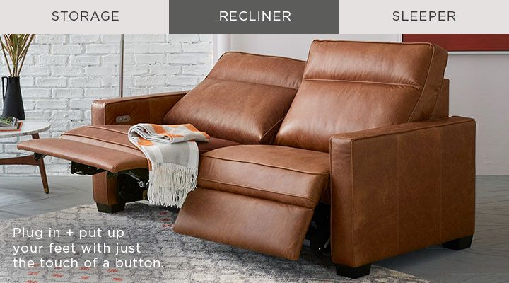 Recliner Plug In Put Up Your Feet With Just The Touch Of A Button Furniture Stylish Living Room Living Room Furniture Collections
