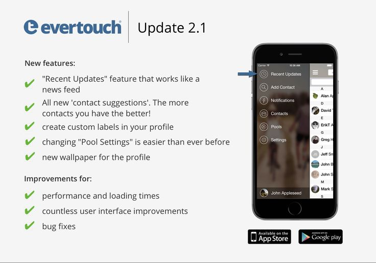 """A few days ago we published a cool new feature called """"Recent Updates"""" in the iOS update 2.1!  It works like a news stream where you can check easily who has updated their profiles. We are really happy with this new function! Have fun!"""