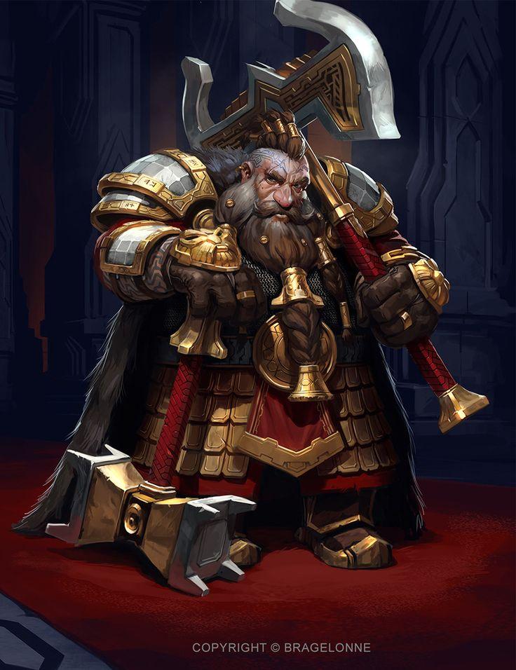 Dwarven General  The Dwarves, Paul Mafayon on ArtStation at https://www.artstation.com/artwork/aLD4X