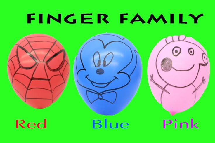 Finger Family Spiderman Colors  RED  | Mickey Mouse Finger Family Colors...