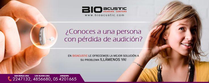 Audifonos para Sordera: ¿Conoces a una persona con pérdida de audición?