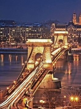 Chain Bridge Budapest, Hungary, going there in the fall!