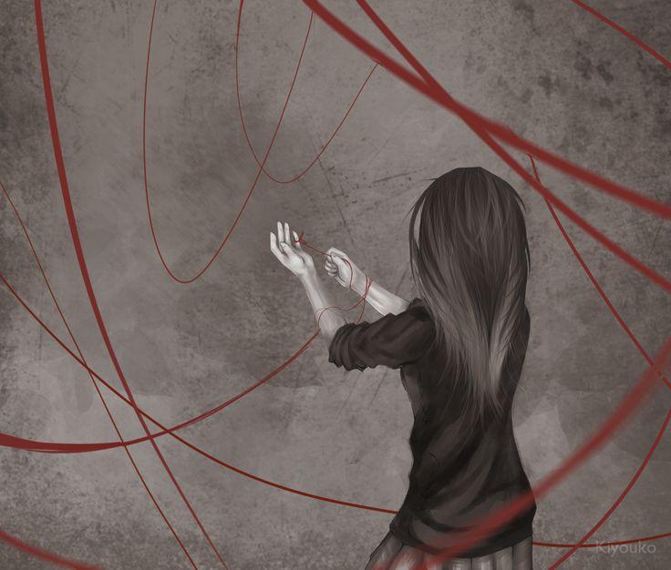 String of Fate by Kiyouko.deviantart.com on @deviantART