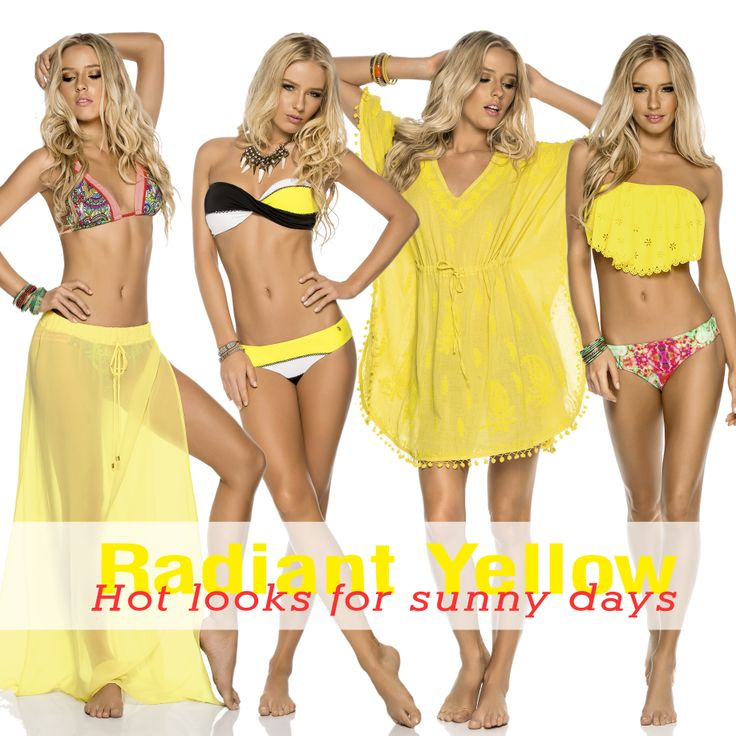 Radiant yellow for this beautiful saturday <3