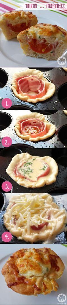 Sehe dir das Foto von Bluemchen mit dem Titel Mufflet - Der Omelett Muffin für ein deftiges Frühstück und andere inspirierende Bilder auf Spaaz.de an.