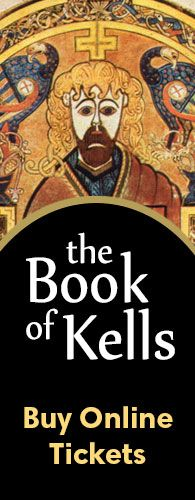 The Old Library & the Book of Kells Exhibition : Trinity College Dublin, The University of Dublin, Ireland