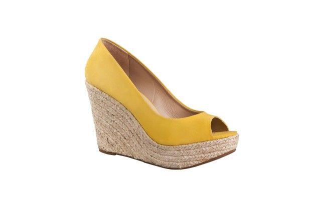 Plataformas #amarillo en mi lista de @zapatosgacel #Zapatos #ZapatosGacel #Gacel #PrimaveraVerano