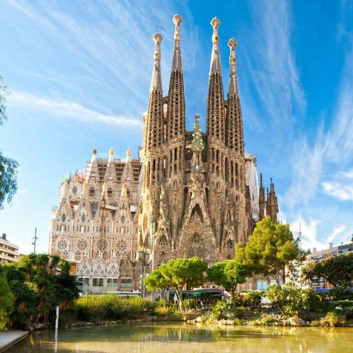 Been! Sagrada Famillia in Barcelona, Spain.  Craziest looking church I have ever been in!