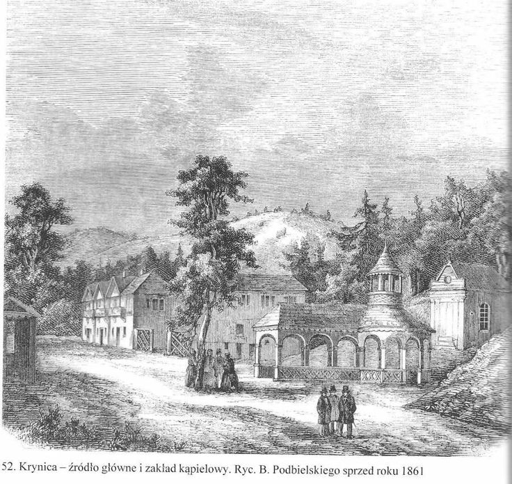 Krynica - Deptak / 1861