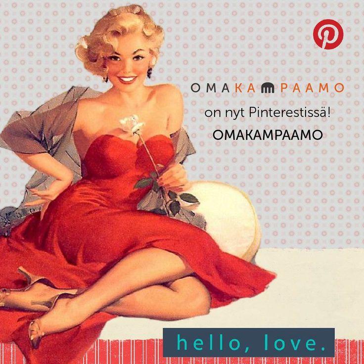 Omakampaamo löysi tiensä myös Pinterestiin! #omakampaamo #pinterest #pinteresting #follow #followus #salonki #kampaaja #kosmetologi #kynsitaiteilija #hiukset #kynnet #liiketoiminta #some #palvelu #huippupalvelu Katso lisää osoitteessa www.omakampaamo.fi