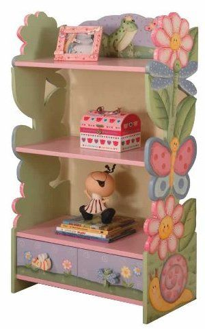 lovely painted decorative shelf
