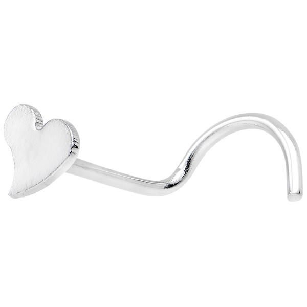 316L Stainless Steel Heart Nose Ring   – BodyCandy