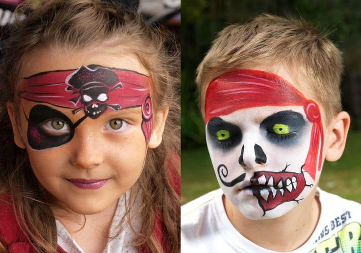 Pirat schminken - Fasching Ideen für Frau, Mann und Kind