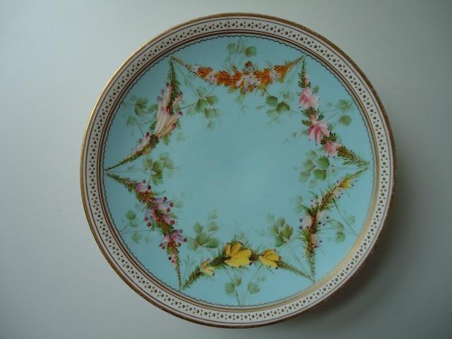 vintage service plate