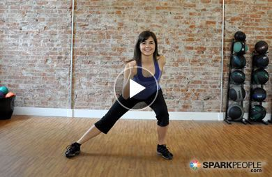 12-Minute Low Impact Cardio Workout Video | SparkPeople