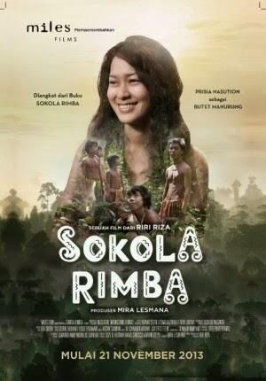 Sokola Rimba (Jungle School) all ages feature film based on the memoir of Butet Manurung's year as an anthropologist, educator and activist with the Orang Rimba (People of the Forest), the nomadic indigenous tribes living in the rainforests of Jambi in central Sumatra. Out 21 November 2013 #SokolaRimba #Sumatra #Sumatera #Indonesia #film #freeducation #education