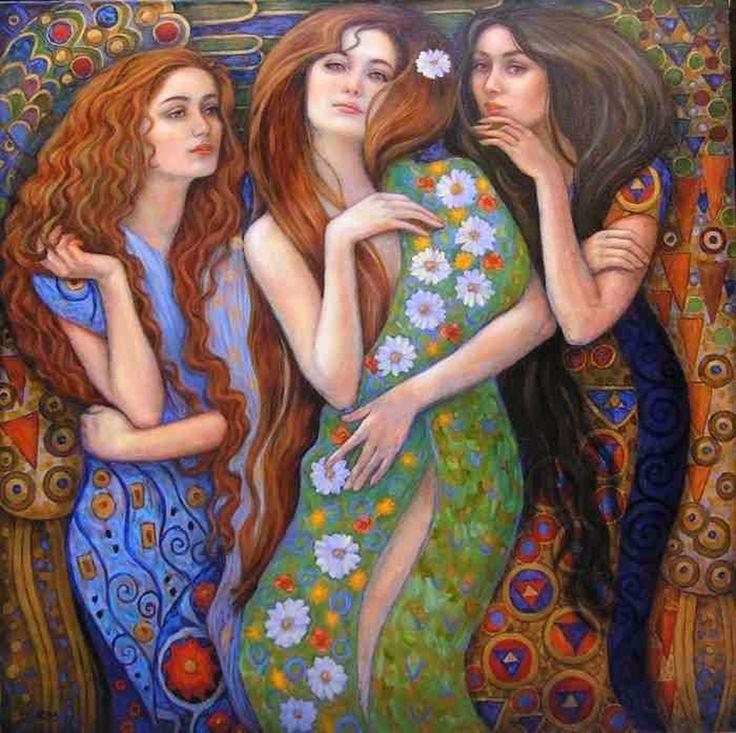 Четыре девицы картинка