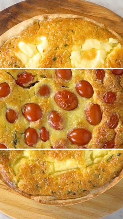 É impossível decidir qual o melhor recheio dessas 3 tortas salgadas!