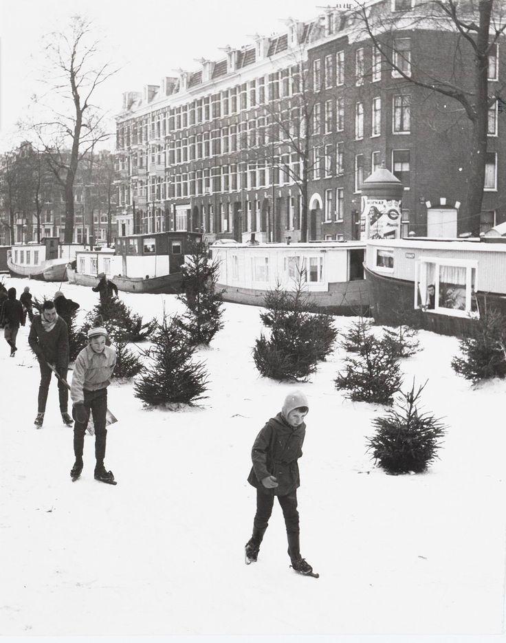 Jacob van Lennepkade 1964. Collectie Stadsarchief Amsterdam