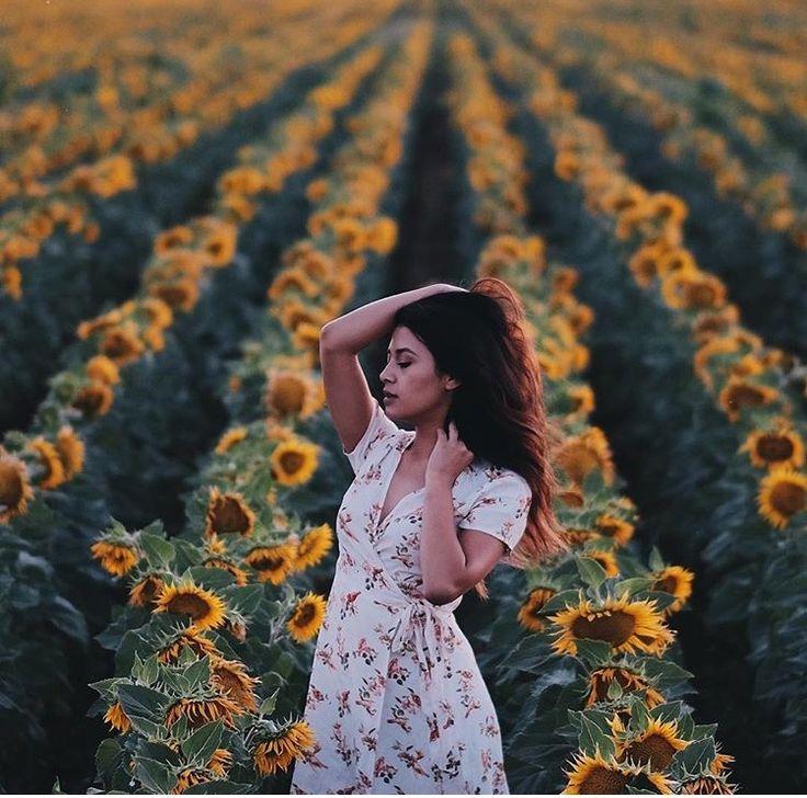 Caliall starling | woodland california sunflower field girasoles portrait