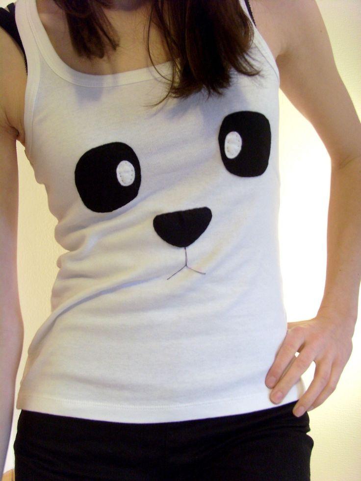 panda felt shirt